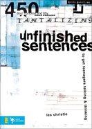 Unfinished Sentences Paperback