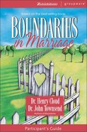 Boundaries in Marriage (Participant's Guide) Paperback