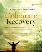 Celebrate Recovery (Updated 2005) (Curriculum Kit) (Celebrate Recovery Series) Pack