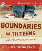 Boundaries With Teens CD