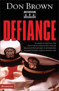 Defiance (#03 in Navy Justice Fiction Series) Paperback