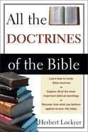 All the Doctrines of the Bible Paperback