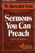 Sermons You Can Preach Paperback