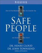 Safe People (Workbook) Paperback