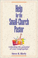 Help For the Small-Church Pastor Paperback