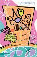No Boys Allowed (Faithgirlz! Series) Paperback