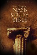 NASB Zondervan Study Bible (Red Letter Edition)