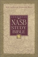 Zondervan NASB Updated Study Bible Burgundy Indexed Bonded Leather