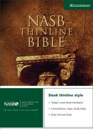 NASB Thinline Text Edition Hardback