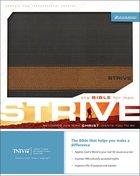 TNIV Strive Bible For Men Mahogany/Acorn Imitation Leather