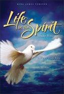 KJV Life in the Spirit Study Bible Black Indexed Bonded Leather