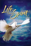 KJV Life in the Spirit Study Bible Burgundy Indexed Bonded Leather