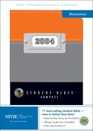 NIV Student Compact Orange/Grey Duo-Tone (2004) Imitation Leather