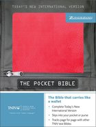 TNIV Pocket Bible Hot Pink Duo-Tone Imitation Leather
