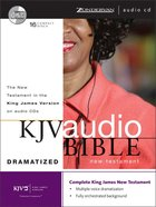 KJV Audio New Testament Dramatized (Unabridged 18 Hrs) CD