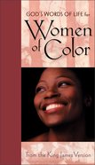 God's Words of Life For Women of Color From the NIV (Colour) Hardback