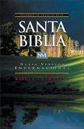 Nvi Santa Biblia Ultrafina Spanish Nvi Ultrathin Black Indexed (Red Letter Edition) Imitation Leather