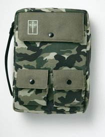 Bible Cover Cargo Camouflage Large