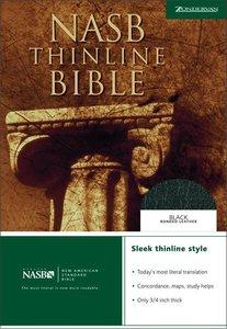 NASB Thinline Text Editions Black