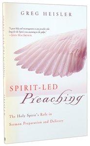 Spirit-Led Preaching