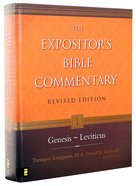 Genesis-Leviticus (#01 in Expositor's Bible Commentary Revised Series)