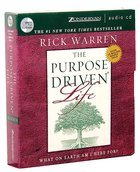 The Purpose Driven Life (Unabridged, 7 CDS) (The Purpose Driven Life Series) CD