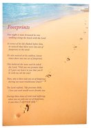 Poster Large: Footprints Poster