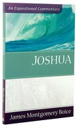 Joshua (Expositional Commentary Series) Paperback