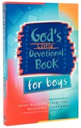 God's Little Devotional Book For Boys Paperback