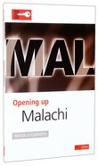 Malachi (Opening Up Series) Paperback