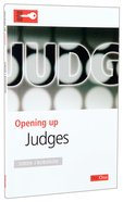 Judges (Opening Up Series) Paperback