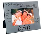 Pewter Photo Frame: Dad
