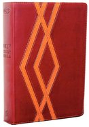 NKJV Study Bible Burgundy/Tan (2nd Edition) Premium Imitation Leather
