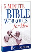 5-Minute Bible Workouts For Men Paperback