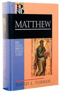 Matthew (Baker Exegetical Commentary On The New Testament Series) Hardback