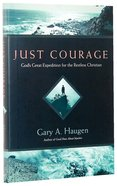 Just Courage Hardback