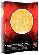 NLT Study Bible (Red Letter Edition) Hardback