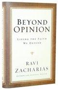 Beyond Opinion Hardback
