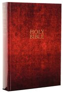 NLT Holy Bible Giant Print Maroon Edition (Red Letter Edition) Hardback