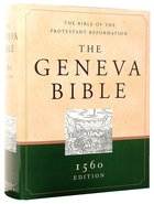 Geneva Bible 1560 Edition Green/Sand Hardback