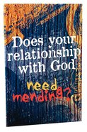 Does Your Relationship With God Need Mending? (Youth) Booklet