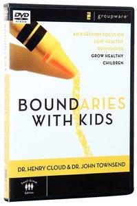 Boundaries With Kids (Dvd-rom)