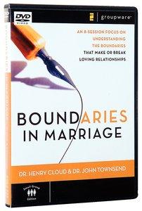 Boundaries in Marriage DVD (Dvd-rom)