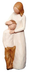 Willow Tree Figurine: Mother and Son
