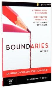 Boundaries (Participants Guide For Dvd -)