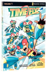 Pyramid Peril (Z Graphic Novel) (#01 in Timeflyz Series)