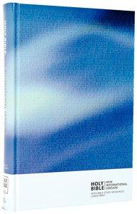 NIV Large Print 1984 Thumb Indexed Blue