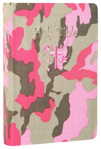 ICB Compact Kids Pink Camouflage (Black Letter Edition)