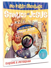 My First Message: Stories of Jesus Mini Book With CD