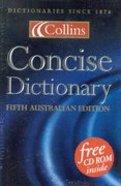 Collins Concise Australian Dictionary Hardback